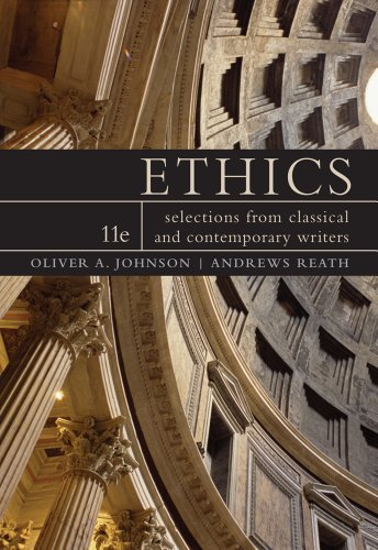 Ethics Selections from Classic and Contemporary Writers 11th 2012 edition cover