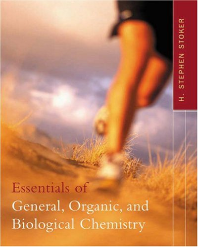 Essentials of General, Organic, and Biological Chemistry   2003 edition cover