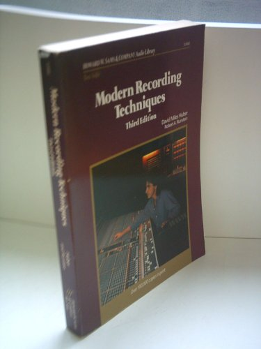 Modern Recording Techniques  3rd (Reprint) 9780672226823 Front Cover