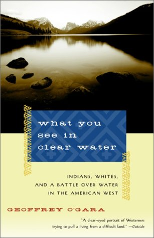 What You See in Clear Water Indians, Whites, and a Battle over Water in the American West N/A edition cover
