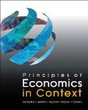 Principles of Economics in Context   2014 edition cover