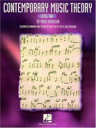 Contemporary Music Theory A Complete Harmony and Theory Method for the Pop and Jazz Musician  1995 edition cover
