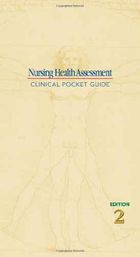Nursing Health Assessment Clinical Pocket Guide 2nd 2007 (Revised) edition cover