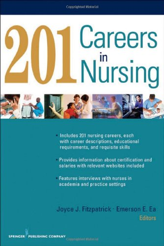 201 Careers in Nursing   2011 edition cover