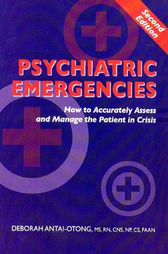 Psychiatric Emergencies:  2009 9780982039823 Front Cover