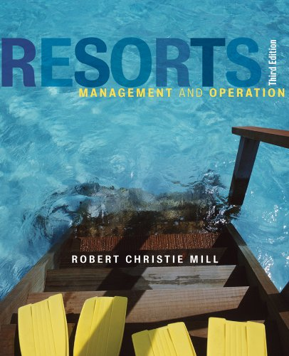 Resorts Management and Operation 3rd 2012 edition cover