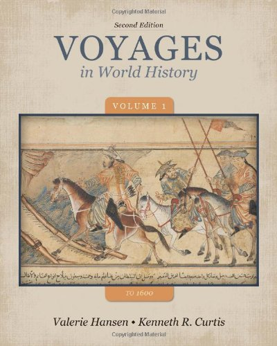 Voyages in World History to 1600  2nd 2014 edition cover