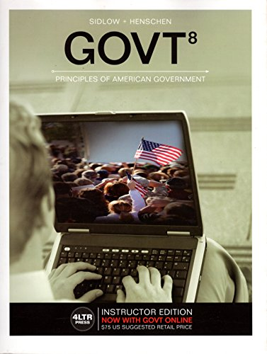 GOVT8   ->INSTRS.ED<                    N/A 9781305660823 Front Cover