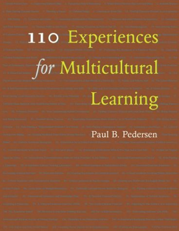 110 Experiences for Multicultural Learning   2004 edition cover