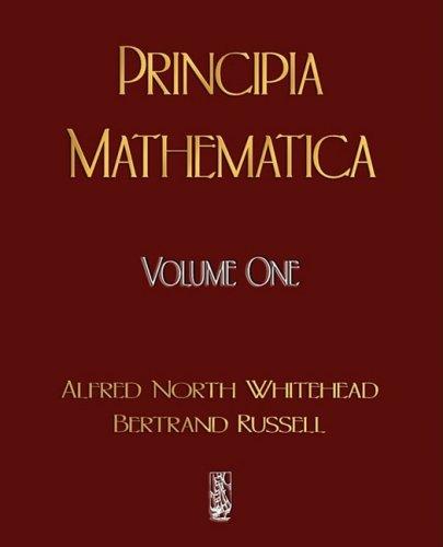 Principia Mathematica -  2009 edition cover
