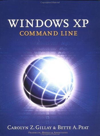Windows XP Command Line   2003 edition cover