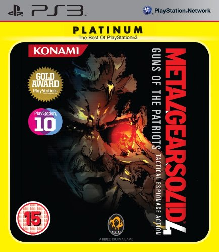 Metal Gear Solid 4 - Guns Of The Patriots Platinum (PS3) PlayStation 3 artwork