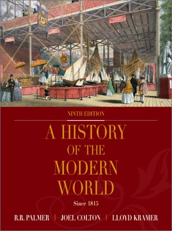 History of the Modern World, with PowerWeb  9th 2002 (Revised) edition cover