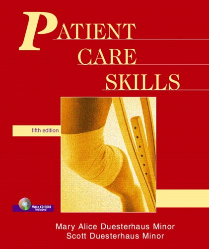 Patient Care Skills  5th 2006 edition cover