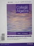 College Algebra, Books a la Carte Edition Plus NEW MyMathLab with Pearson EText -- Access Card Package  3rd 2015 edition cover
