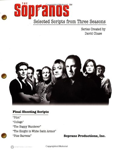 Sopranos Selected Scripts from Three Seasons  2002 edition cover