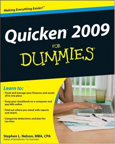 Quicken 2009 for Dummies   2008 9780470285824 Front Cover