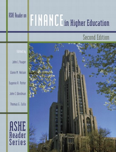 Finance in Higher Education  2nd 2001 edition cover