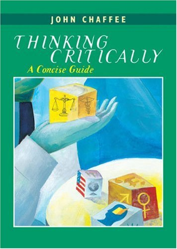 Thinking Critically A Concise Guide  2004 edition cover