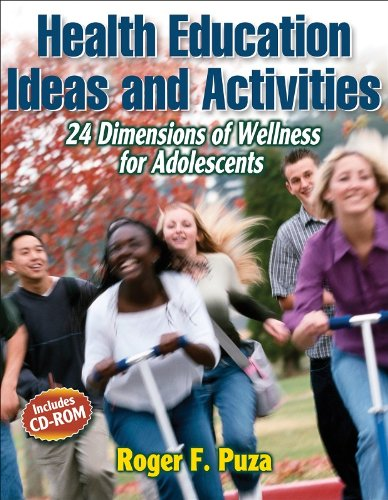 Health Education Ideas and Activities 24 Dimensions of Wellness for Adolescents  2007 edition cover