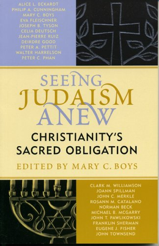 Seeing Judaism Anew Christianity's Sacred Obligation  2005 edition cover
