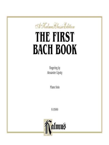 First Bach Book   1985 9780769240824 Front Cover