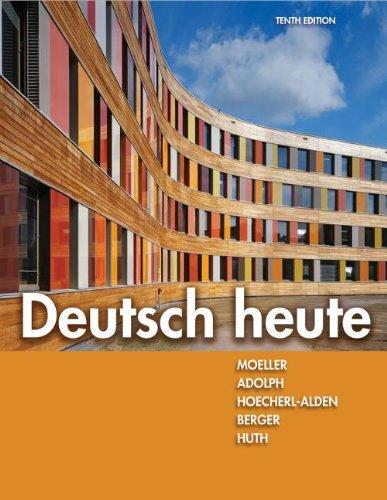 Deutsch Heute  10th 2013 edition cover
