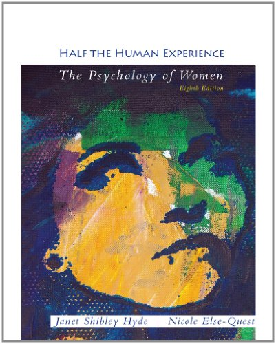 Half the Human Experience  8th 2013 edition cover