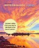 Cengage Advantage Books: Meteorology Today  10th 2013 edition cover