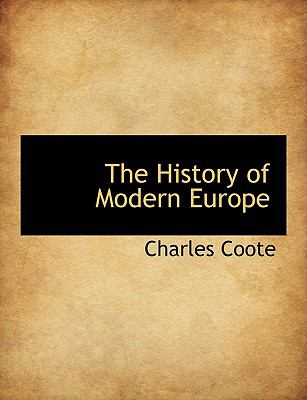 History of Modern Europe N/A 9781113602824 Front Cover