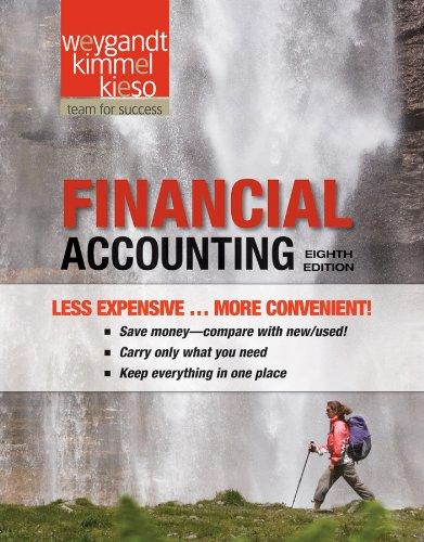Financial Accounting:  8th 2011 edition cover