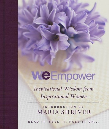 We Empower Inspirational Wisdom for Women N/A 9781401309824 Front Cover