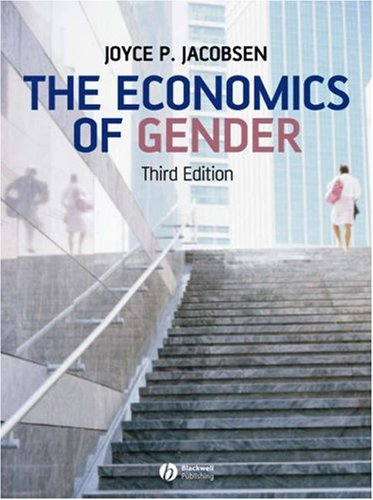 Economics of Gender  3rd 2007 (Revised) edition cover