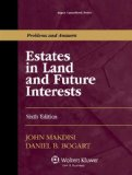 Estates in Land and Future Interests  6th edition cover