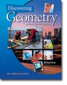 Discovering Geometry An Investigative Approach 4th 2008 edition cover