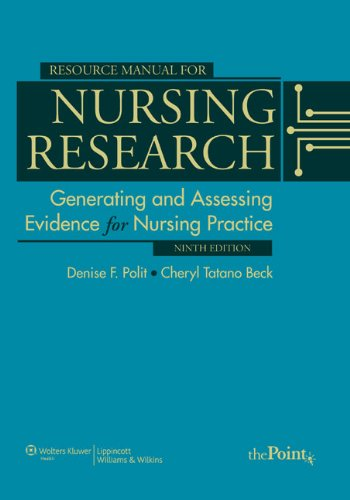 Resource Manual for Nursing Research Generating and Assessing Evidence for Nursing Practice 9th 2011 (Revised) edition cover