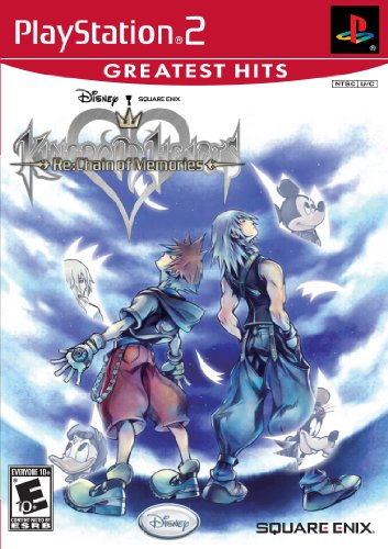 Kingdom Hearts Re:Chain of Memories PlayStation2 artwork