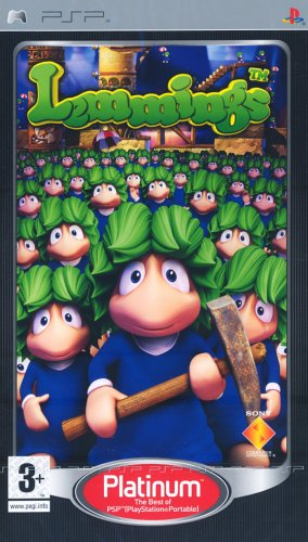 Lemmings - Platinum Edition (PSP) Sony PSP artwork
