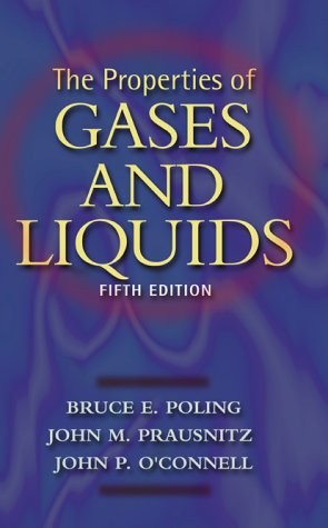 Properties of Gases and Liquids  5th 2001 (Revised) 9780070116825 Front Cover