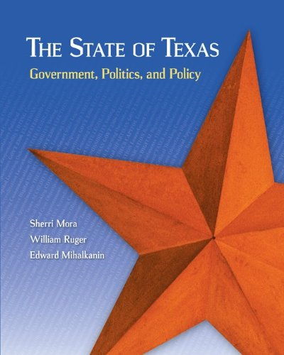 State of Texas: Government, Politics, and Policy   2014 edition cover