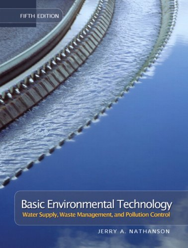 Basic Environmental Technology Water Supply, Waste Management, and Pollution Control 5th 2008 edition cover