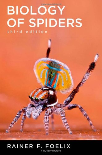 Biology of Spiders  3rd 2010 edition cover