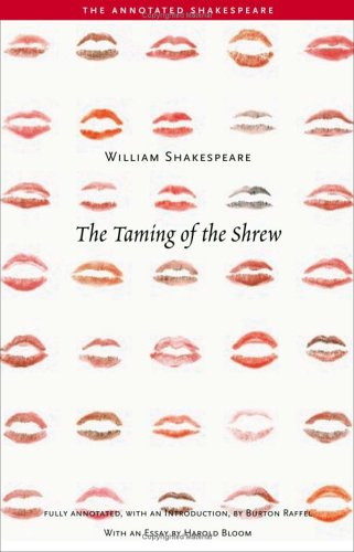Taming of the Shrew   2005 (Annotated) edition cover