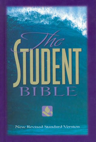 NRSV Student Bible  10th 1996 (Revised) edition cover