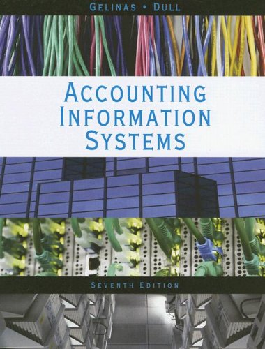 Accounting Information Systems  7th 2008 edition cover