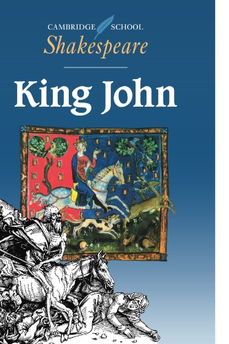 King John - Oxford Shakespeare   1994 9780521445825 Front Cover