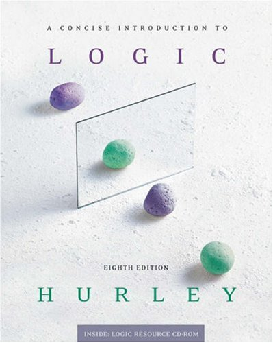Concise Introduction to Logic  8th 2003 edition cover