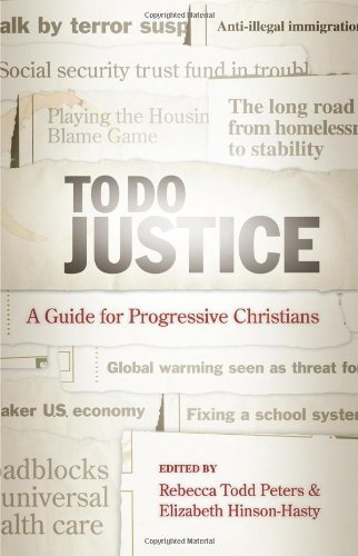 To Do Justice A Guide for Progressive Christians  2008 edition cover