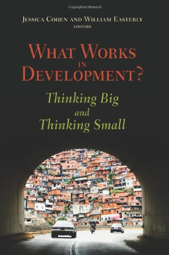What Works in Development? Thinking Big and Thinking Small  2009 edition cover