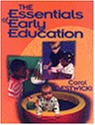Essentials of Early Education  1st 1997 edition cover